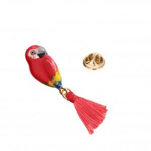 Pin's Perroquet Pompom