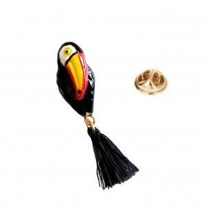 Pin's Toucan Pompom