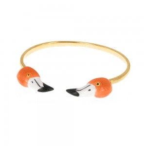 Bracelet Double Flamingo