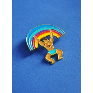 Pin's Rainbow Man