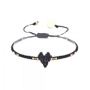 Bracelet Coeur Noir