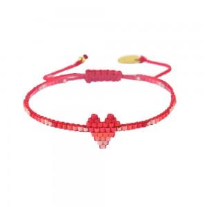 Bracelet Coeur Rose