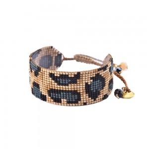 Bracelet Panthère Bleu M