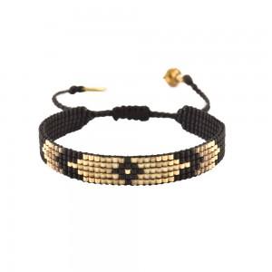 Bracelet Losange Noir S