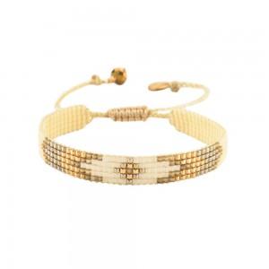 Bracelet Losange Blanc S