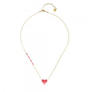 Collier Petit Coeur Rose