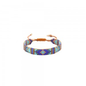 Bracelet Losange Bleu S